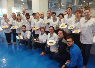 Experimental cuisine course in Valencia – March 2018